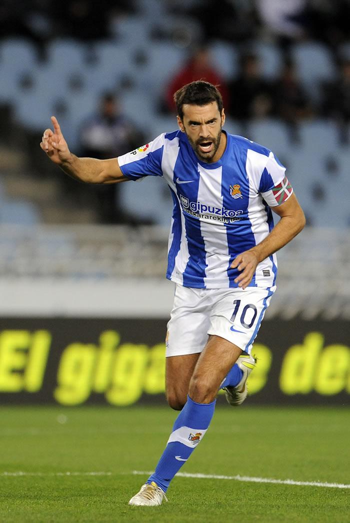 Xabi Prieto renueva con la Real Sociedad hasta el año 2017