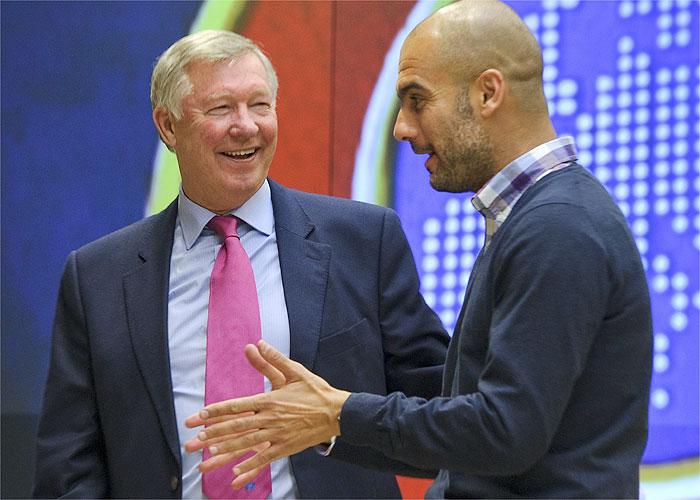 Alex Ferguson piensa en Guardiola como su sustituto