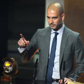 Pep dedicó a Vilanova el premio al mejor técnico