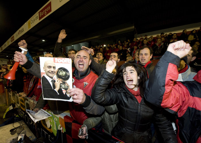 El Mirandés-Athletic tuvo 3,5 millones de espectadores