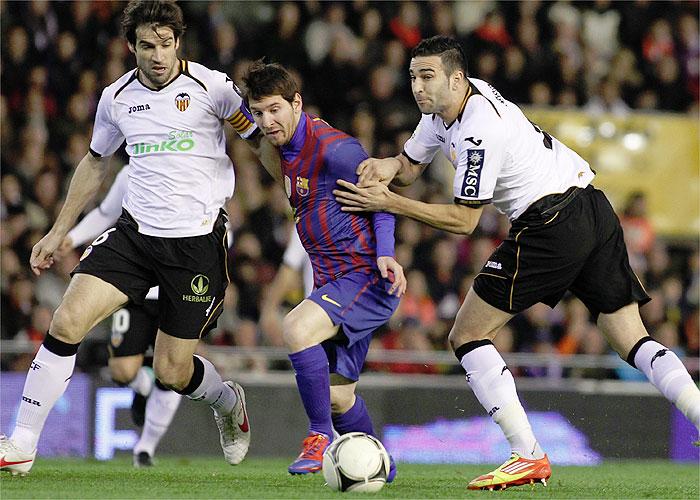 El Barça indulta al Valencia