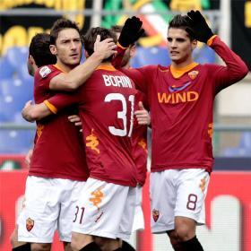 La Roma arrolla al Inter; Juventus y Milan pinchan