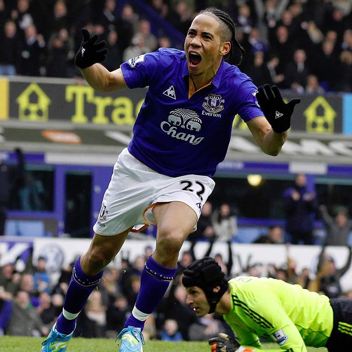 El Chelsea cede la cuarta plaza al caer con el Everton