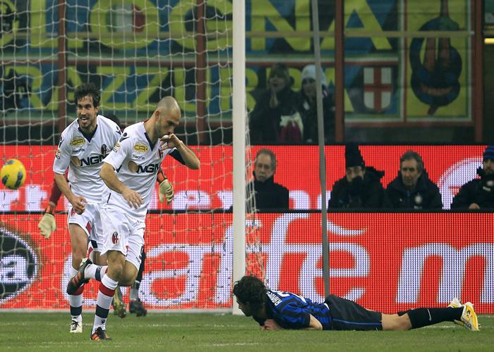El Inter, en caída libre
