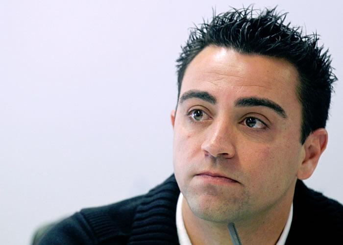 """Xavi: """"Los 10 puntos son bastante injustos"""""""