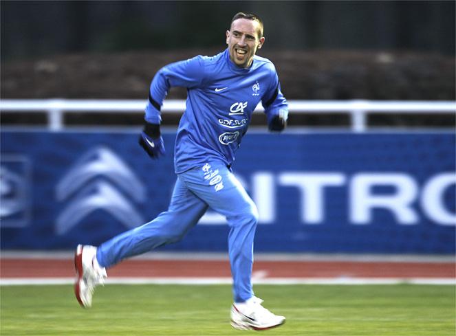 Ribéry apuesta por España, Holanda y Alemania