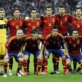 España, favorita en bwin a 100 días de la EURO 2012