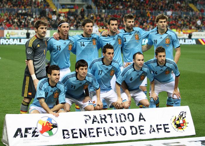 España, ante Serbia el 26-M