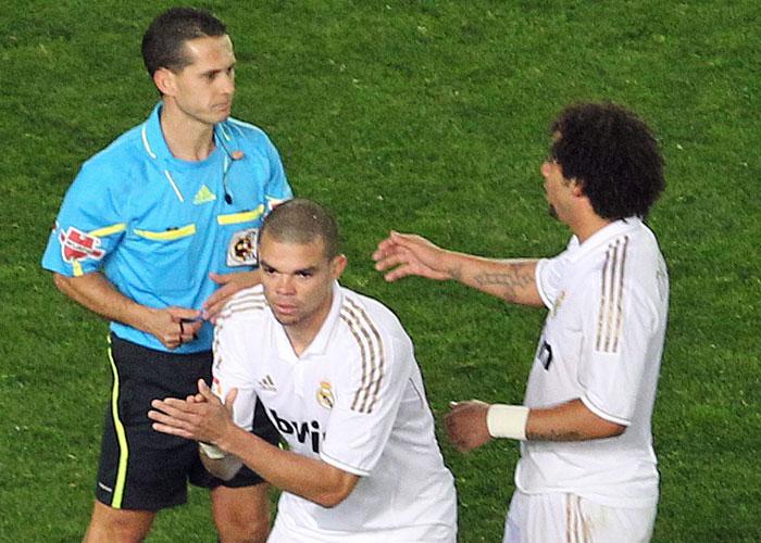 Dos partidos a Pepe, uno Özil y absuelto Ramos
