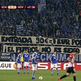 """""""¿90 euros la entrada? ¡El fútbol no es sexo telefónico!"""""""