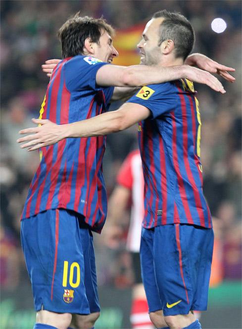 El Barcelona puso su magia y el Athletic pagó su fatiga