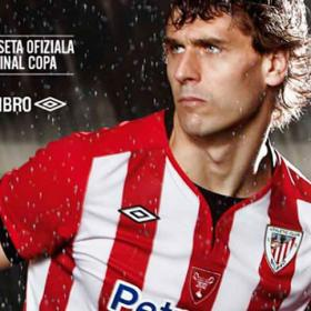 El Athletic presenta la camiseta de la final de Copa