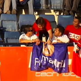 Los ultras rojillos intimidaron a una familia madridista