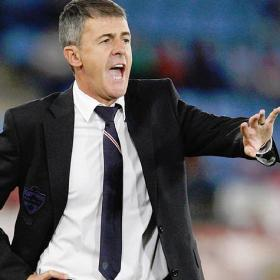 Lucas Alcaraz deja de ser entrenador del Almería
