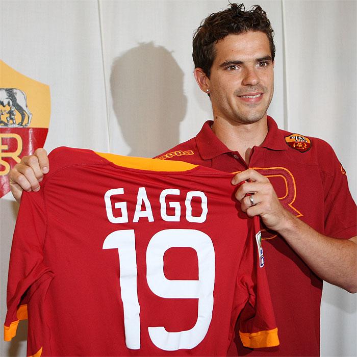 """Gago: """"Quiero quedarme mucho tiempo en el Roma"""""""