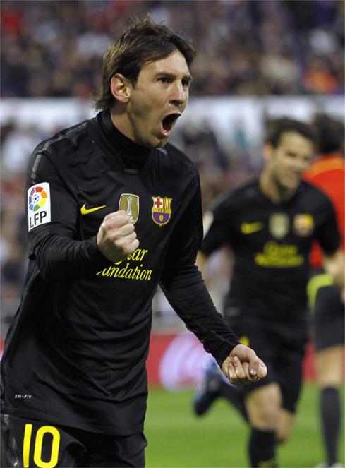 La racha del Zaragoza no pudo con la de Messi