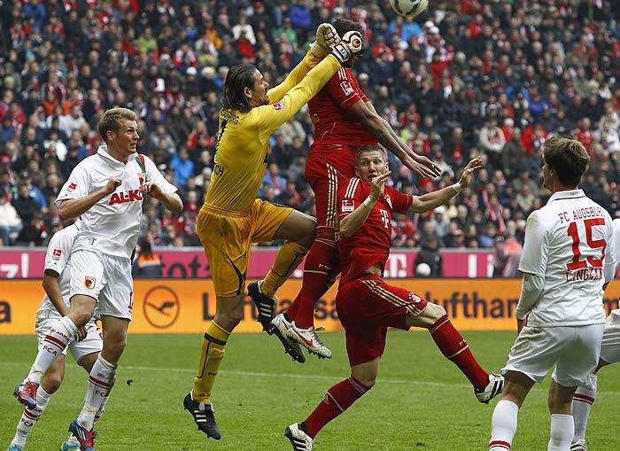 El Bayern gana con la ley del mínimo esfuerzo