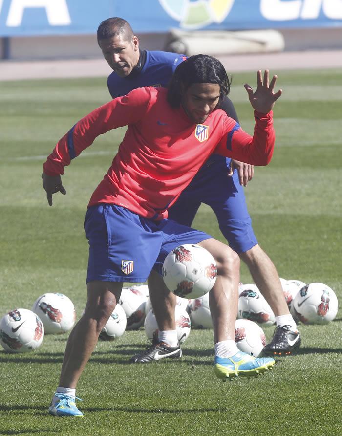 Falcao estará en plenitud para recibir al Madrid