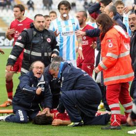 Morosini muere tras sufrir un infarto sobre el campo