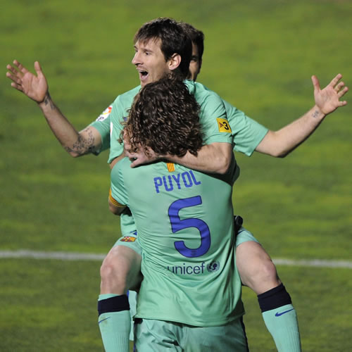 Messi mantiene vivo al Barça