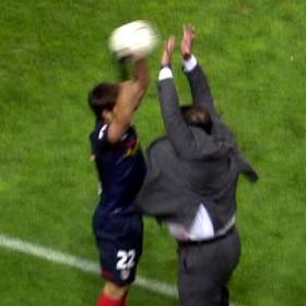 """Sandoval sobre el 'tapón' a Diego: """"Fue por instinto"""""""