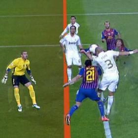 El pie de Adriano dio validez al gol marcado por Khedira