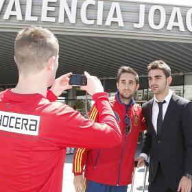 El Atleti ya está en Valencia