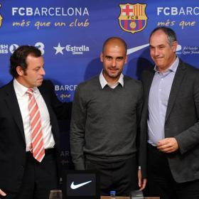 Guardiola deja el Barça y lo sustituirá Vilanova