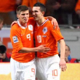 Huntelaar y Van Persie: el mejor dúo de la Eurocopa