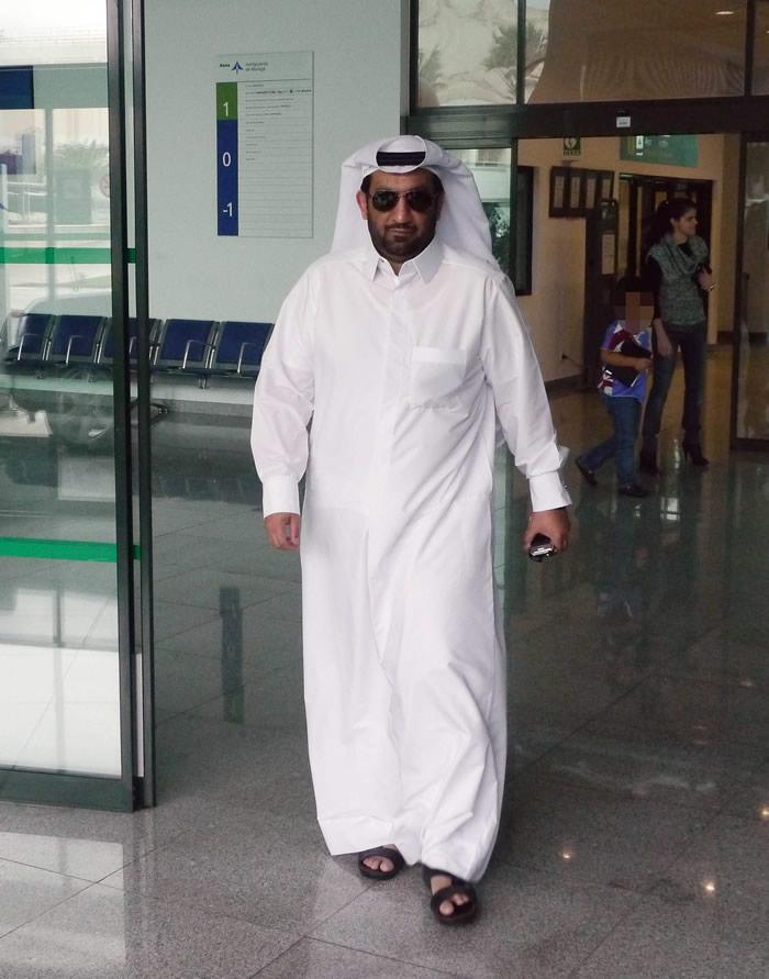 El jeque Al-Thani verá un duelo de Champions