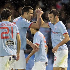 Sin Bermejo y sin David, el Celta se aferra a Aspas