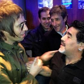 Liam Gallagher llama alcohólico a Ferguson