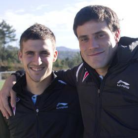Oier y Túñez, una vuelta como pareja de centrales