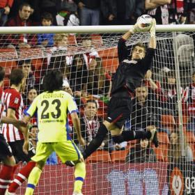 El Athletic puso el único fútbol en San Mamés