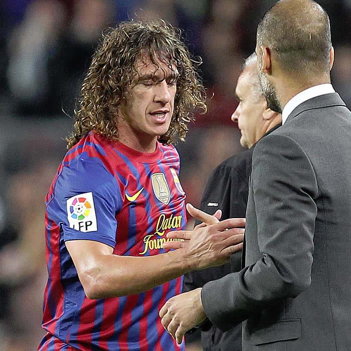Carles Puyol será operado y se pierde la Eurocopa