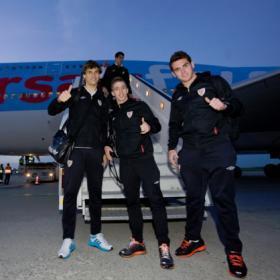 Atlético y Athletic toman la ciudad de la alegría