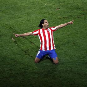 Radamel Falcao, hombre récord de la Europa League