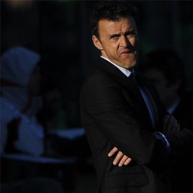 Luis Enrique anuncia a los jugadores su marcha