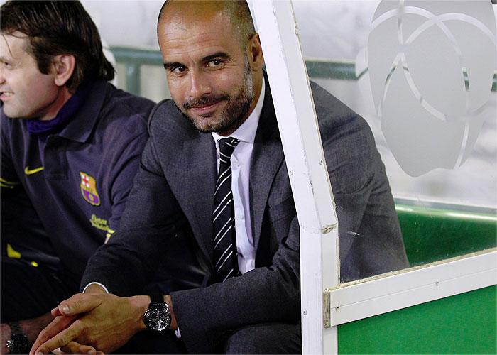 Pep Guardiola, punto y final