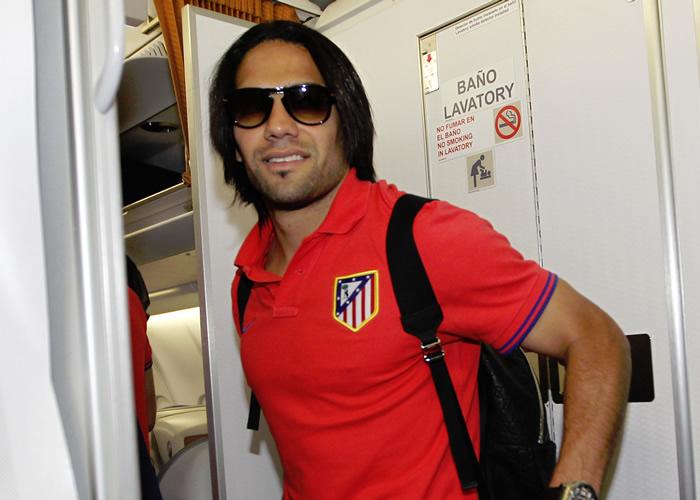 """Falcao: """"¿United o Chelsea? Me quedo con el Atlético"""""""