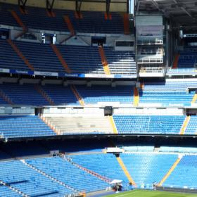 Las obras del Bernabéu están en marcha