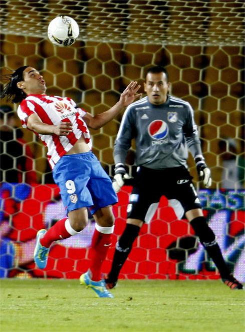 El Atlético de Madrid se lleva el primer encuentro de la gira