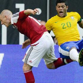 Brasil tiene en Hulk a su '9'