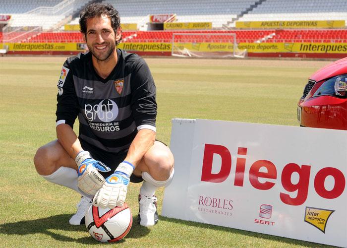 """Diego López: """"Me llamó el Sevilla y no tuve dudas"""""""