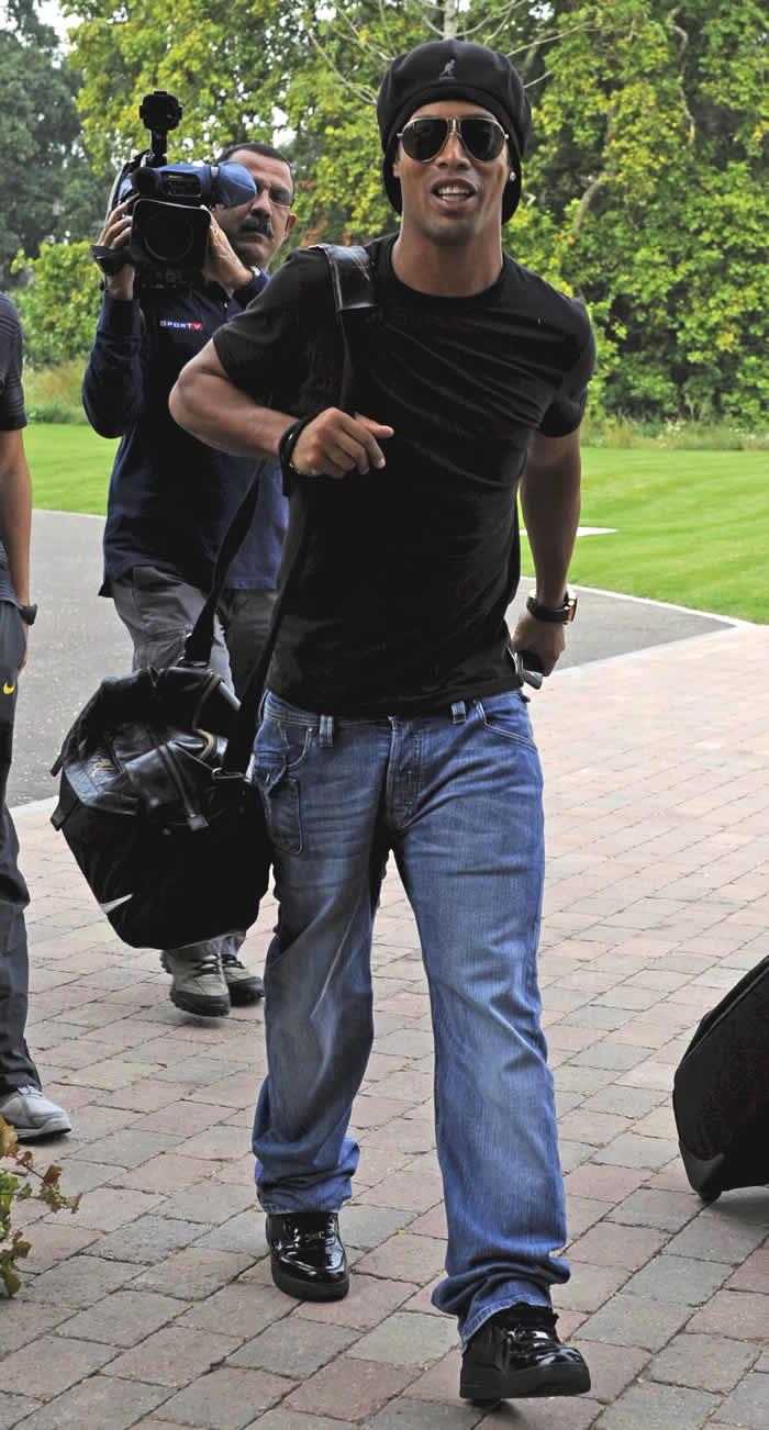 Ronaldinho, tercer día sin entrenar con el Flamengo