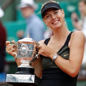 Sharapova: &quot;Todava me quedan cosas por ganar&quot;
