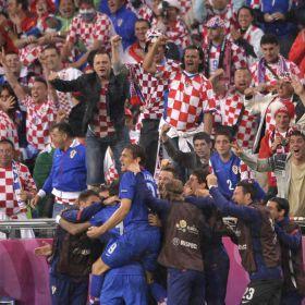 Croacia retrata a Irlanda