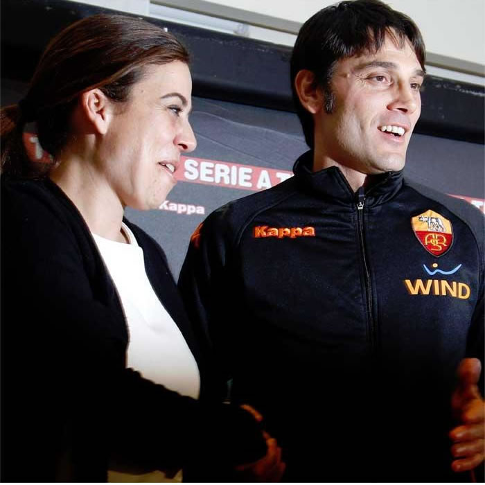 Vincenzo Montella, nuevo entrenador del Fiorentina