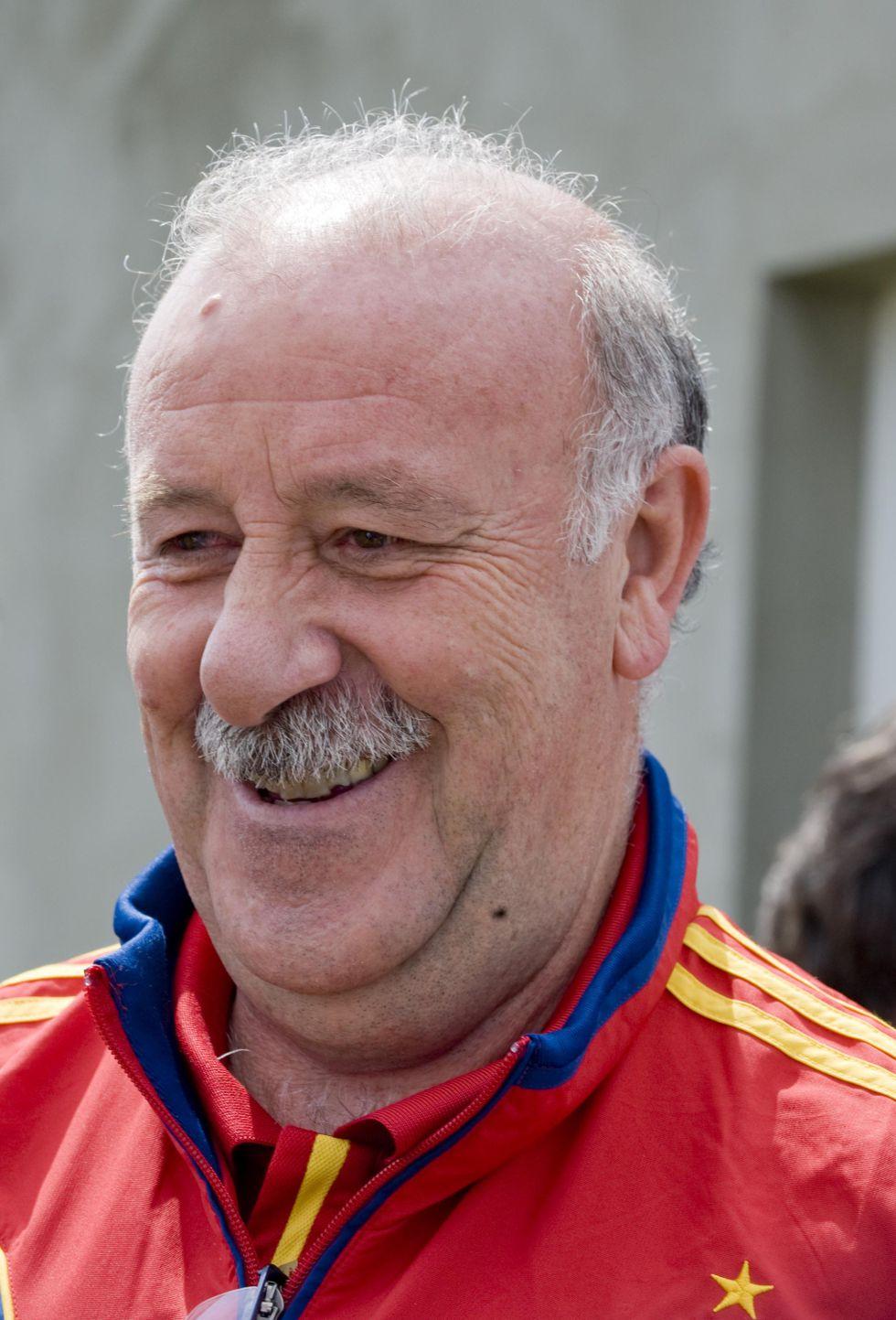 Vicente Del Bosque firmó su renovación hasta el año 2014