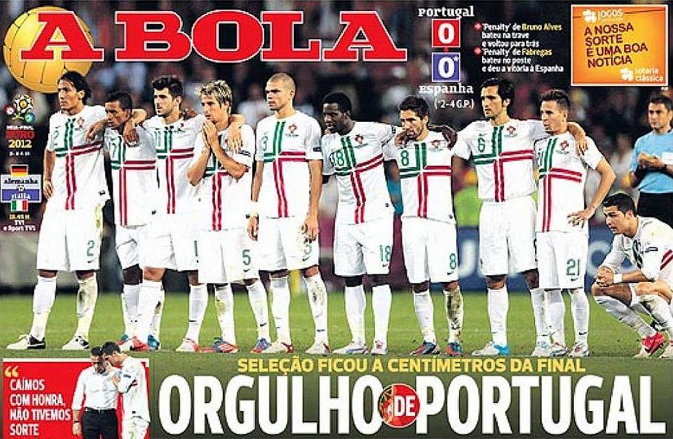 La prensa portuguesa, orgullosa de su selección